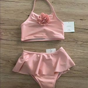 Kate spade baby girl swimsuits 2 piece set